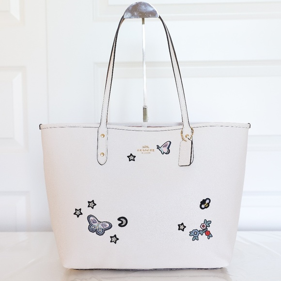 b142be6e5d067 ... free shipping coach f25798 city tote with souvenir embroidery 8a36d  bedfa